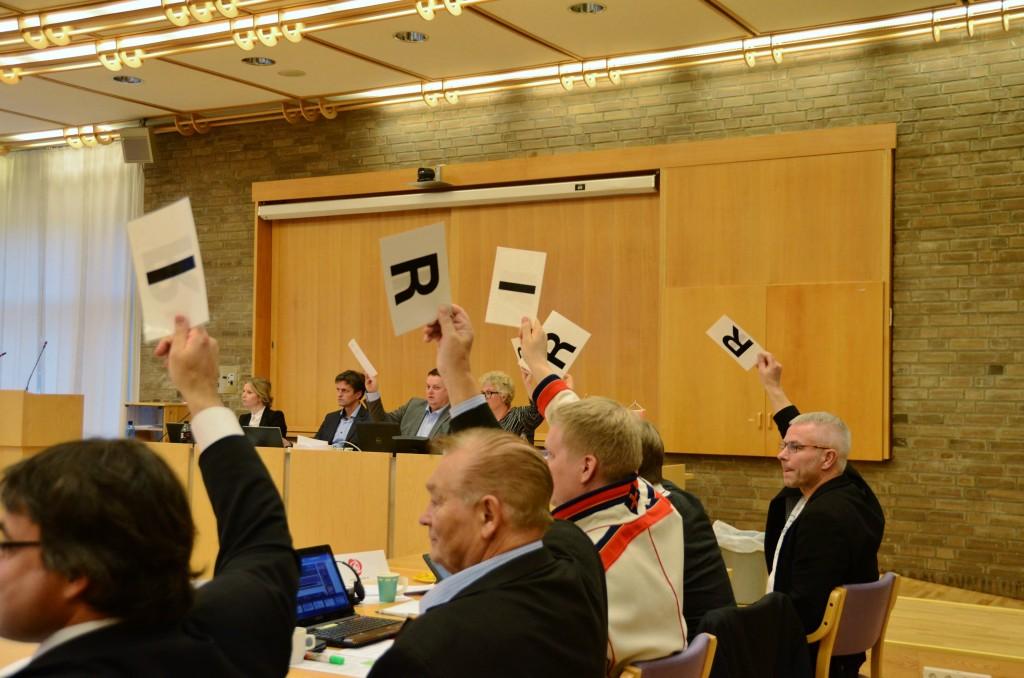 Saken om å støtte heving av statusen til kvensk språk ble enstemmig vedtatt. KUVA Kari Bjørkli Thomassen, Finnmark Fylkeskommune