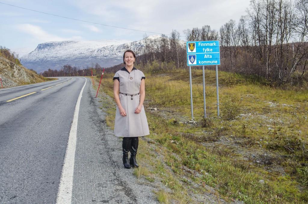 Hilja Huru, leder av Norske Kveners Forbund - Ruijan Kveeniliitto. KUVA HEIDI NILIMA MONSEN