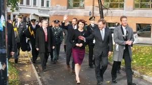 Presidentti kävi Tromssassa • Presidentbesøk i Tromsø