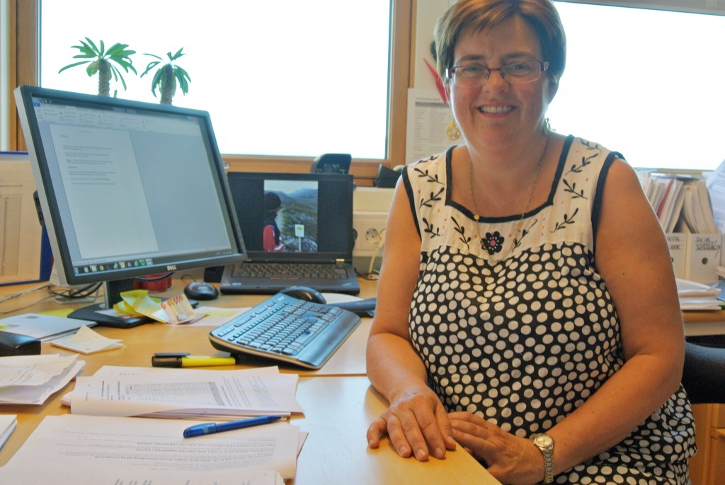 Vigdis Nygaard ved Norut i Alta tviler på at det mange blir svært overrasket over resultatene fra undersøkelsen om frafallet av finskelever. KUVA HEIDI NILIMA MONSEN