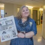 Heidi Nilima Monsen har tatt over som ny redaktør i Ruijan Kaiku. KUVA RUIJAN KAIKU