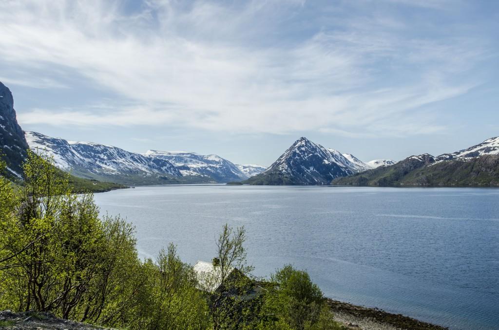 Langfjorden, Alta. KUVA HEIDI NILIMA MONSEN