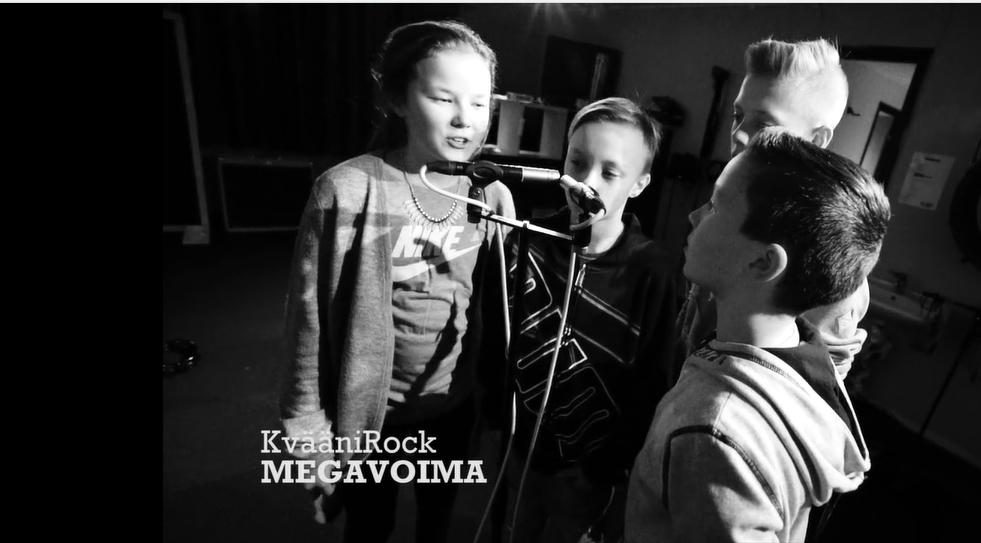 Musikkvideoen MegaVoima