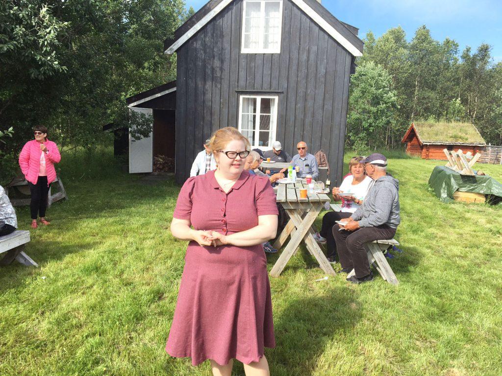 Idyllisk på Tørrfoss kvengård i Reisadalen