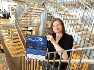 Åtte bidrag i skrivekonkurransen om Finland