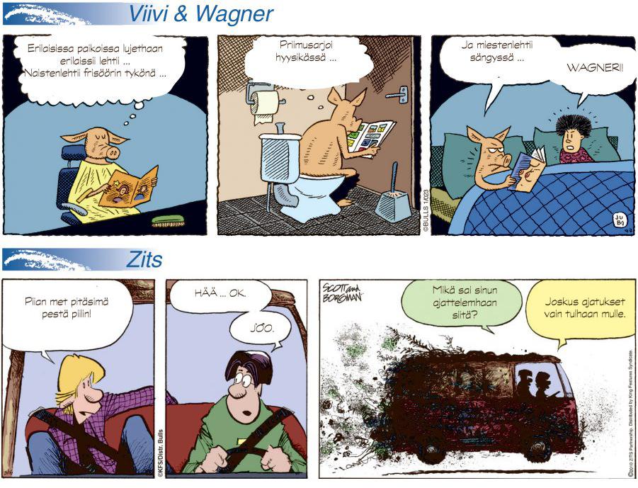 Tegneserier – tilbakeblikk