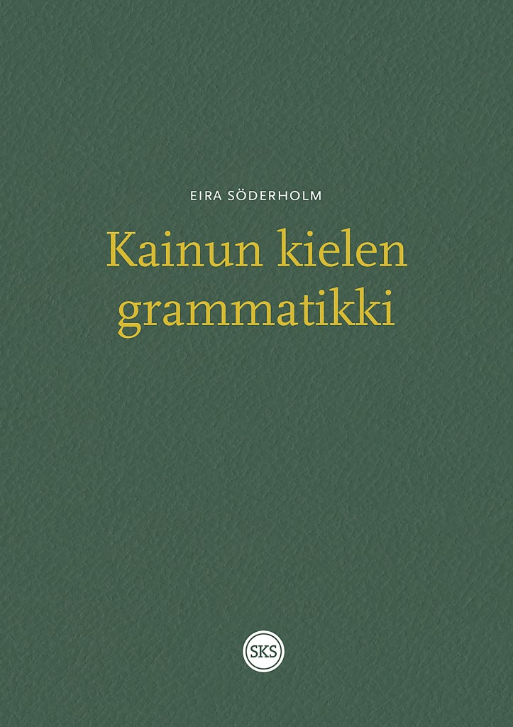 Forsiden til Kainun kielen grammatikki.