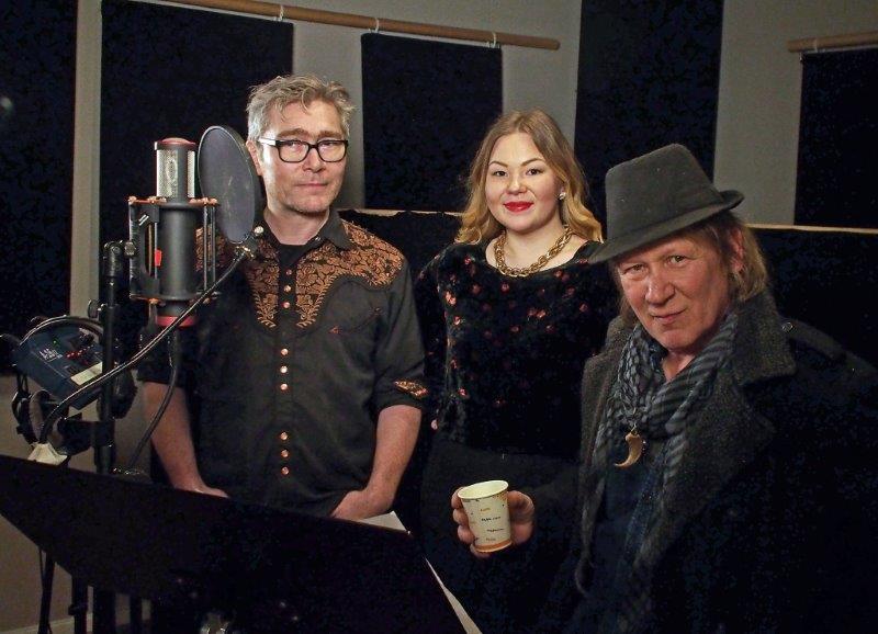Petter Pogo, Noora Ollila og Steinar Olsen