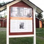 Käsityöläisammattinimiä 1850-luvun Suomesta. Infotaulu Iin haminassa, heinäkuu 2011 KUVA LIISA KOIVULEHTO