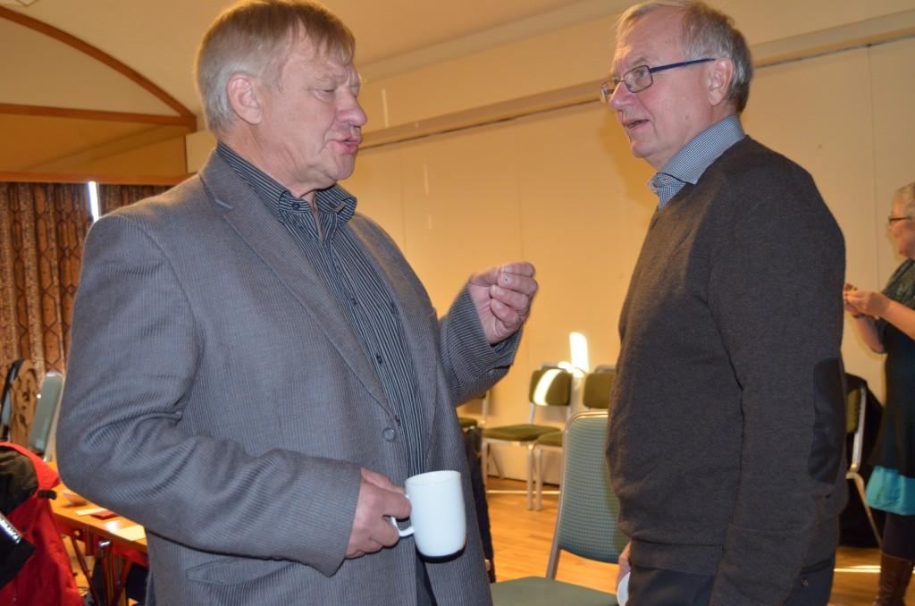 Kvenlandsforbundets Bjørnar Seppola er kritisk til Trygg jakolas og NKFs tro på at heving av kvensk til nivå 3 skal redde det kvenske språket. KUVA HEIDI NILIMA MONSEN