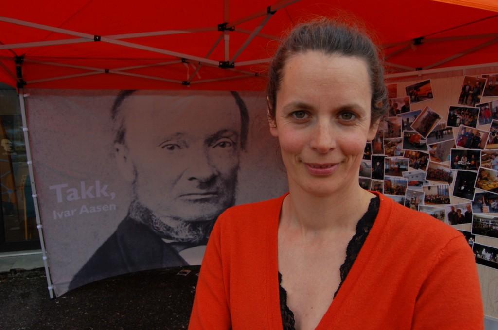 Leder i Noregs Mållag Marit Aakre Tennø støtter heving av kvensk språk til nivå 3. KUVA NOREGS MÅLLAG