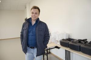 Daglig leder i Halti Kvenkultursenter Pål Vegard Eriksen gleder seg til å vise fram det nye Haltibygget under årets Paaskiviikko. KUVA HEIDI NILIMA MONSEN