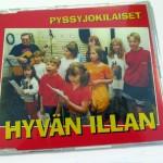 cd omslag Hyvän illan