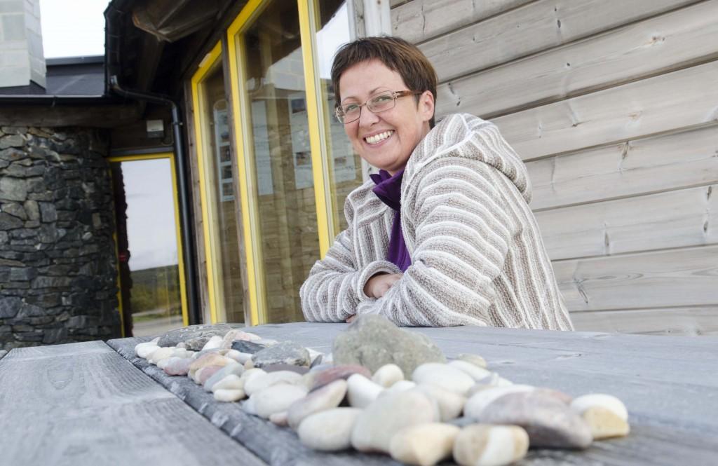 Hilde Skanke drømmer om at alle barnehager i Finnmark og Nord-Troms skal starte kvenske språkreir. KUVA HEIDI NILIMA MONSEN