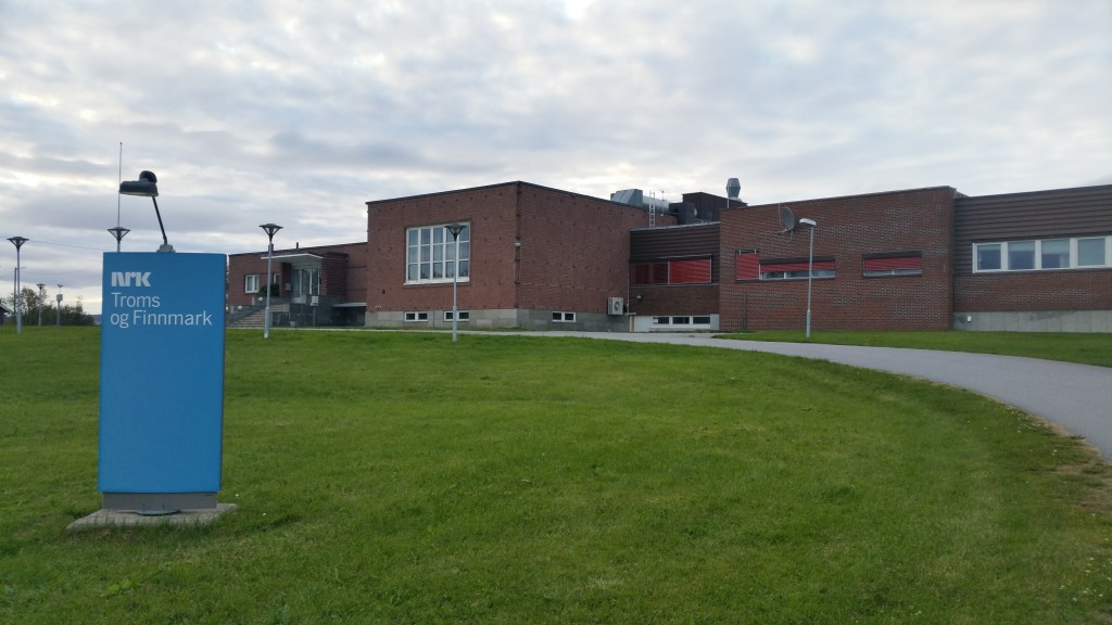 Det gamle NRK-bygget i Vadsø kan nå bli kvenmuseum. KUVA HEIDI NILIMA MONSEN