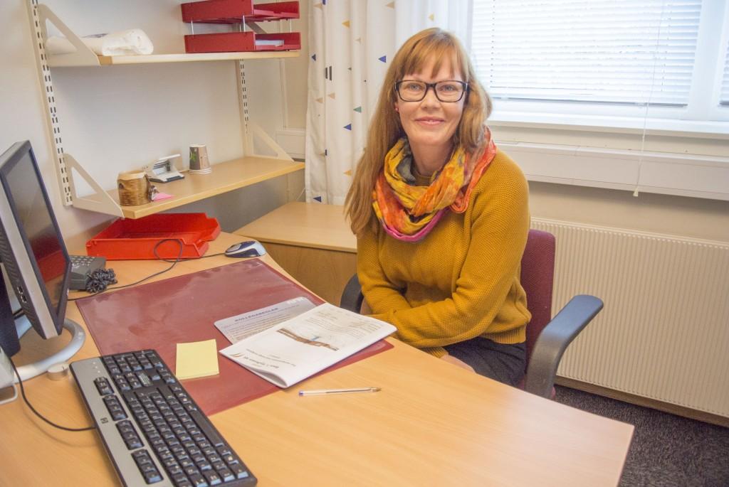 Samlingsådgiver Monica Milch Gebhardt tror arbeidshverdagen vil endre seg kraftig ved å flytte fra Esbensengården til NRK-bygget.