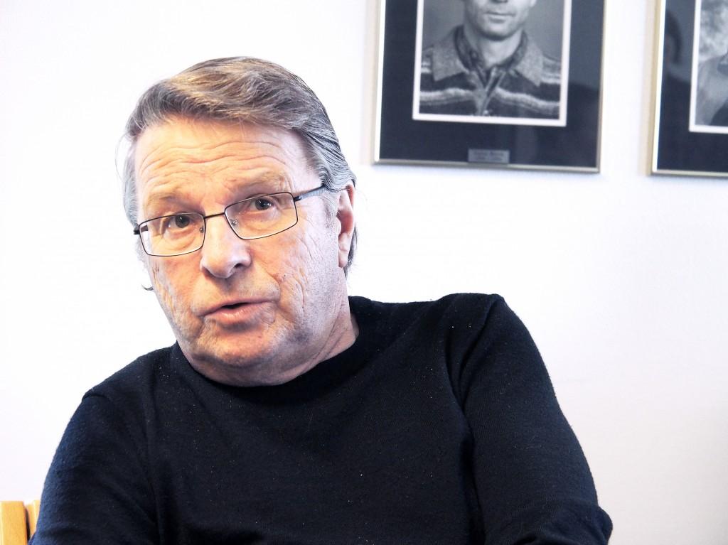 Egil Sundelin var nestleder i Norske kveners forbund i 1995. Han er blant de kvenske organisasjonsfolkene som har skrevet mest i Ruijan Kaiku. KUVA LIISA KOIVULEHTO