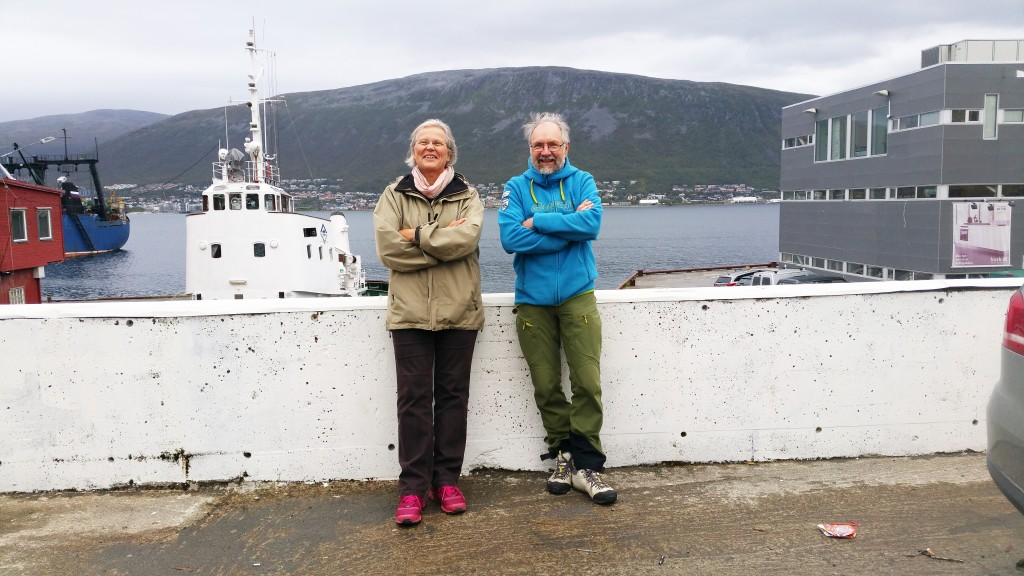 Liisa Koivulehto og Tore Figenschau tror trøkket fra Ruijan Kaiku kan ha fungert som en viktig pådriver i språksaken. I en periode purret de månedlig på departementet. KUVA HEIDI NILIMA MONSEN