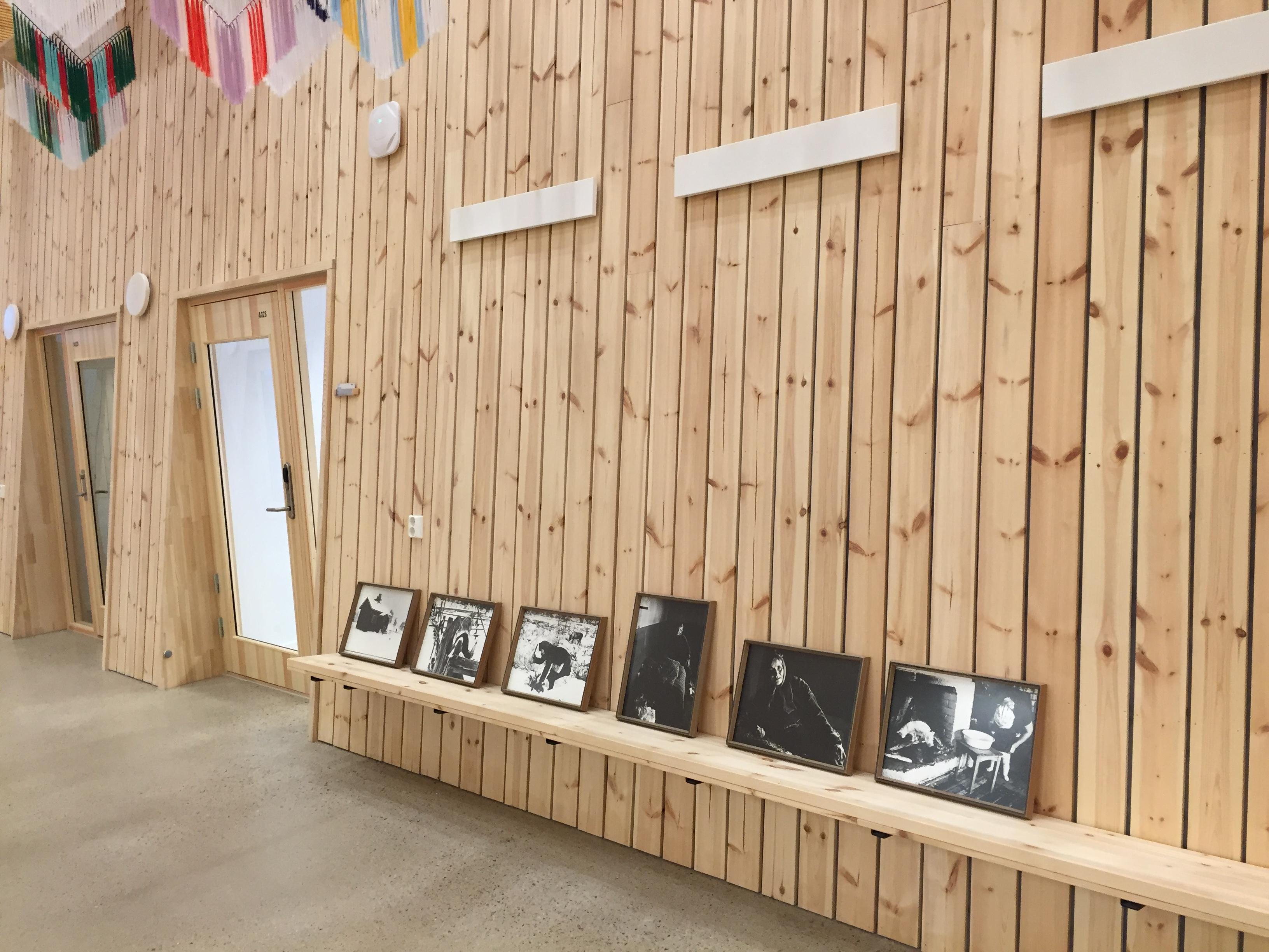 Kvensk og finsk kunst pryder nytt sametingsbygg