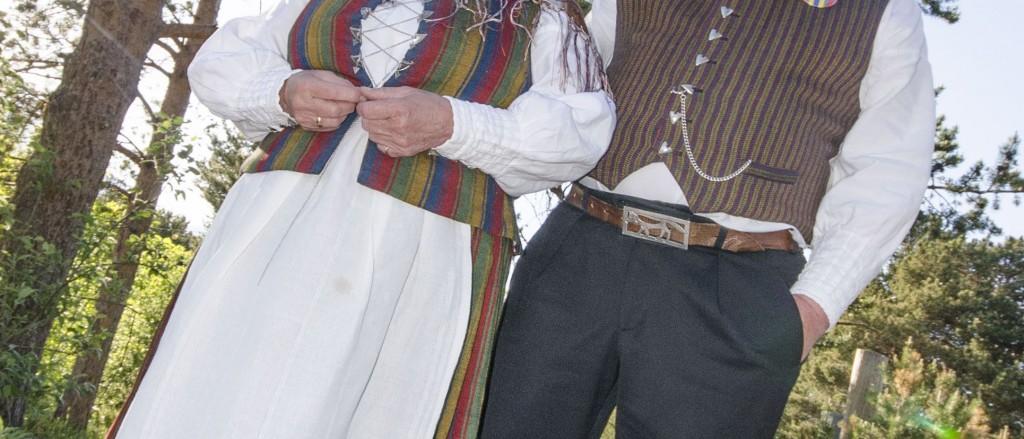 Kvenforeninga i Lakselv ser gjerne at designere lar seg inspirere av kvendrakta. KUVA HEIDI NILIMA MONSEN