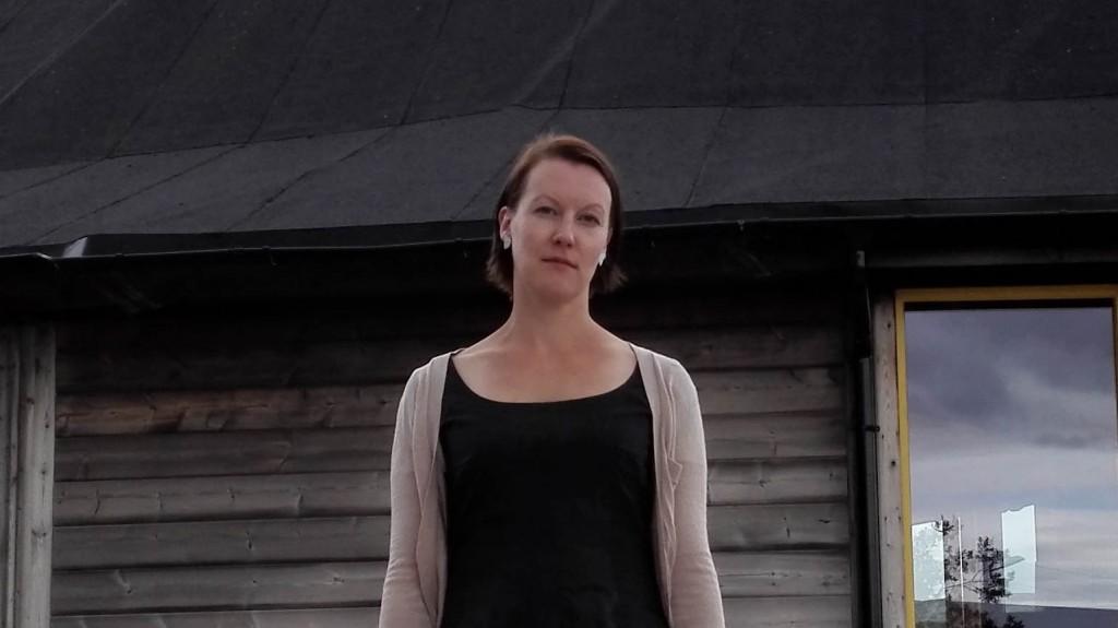 Hilja Huru, leder i Norske Kveners Forbund, Ruijan Kveeniliitto. KUVA PÅL VEGARD ERIKSEN