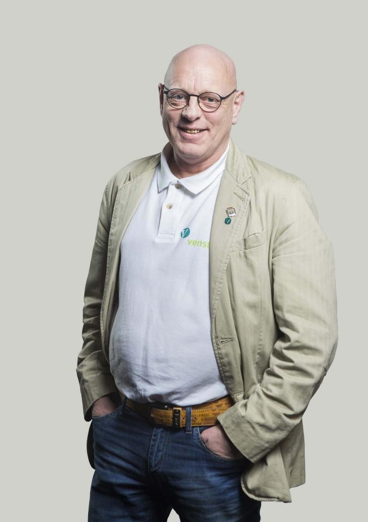 – Landsstyret vedtok forslaget enstemmig. Nå er støtten til kvensk vedtatt politikk som hele stortingsgruppa skal jobbe med, forteller leder Terje Soløy i Finnmark Venstre. KUVA JO STRAUBE