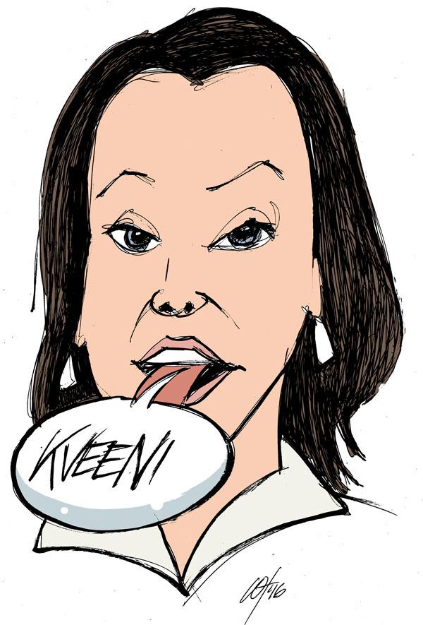 Piđä oikkeen kielen suussa – Hold rett tunge i munnen