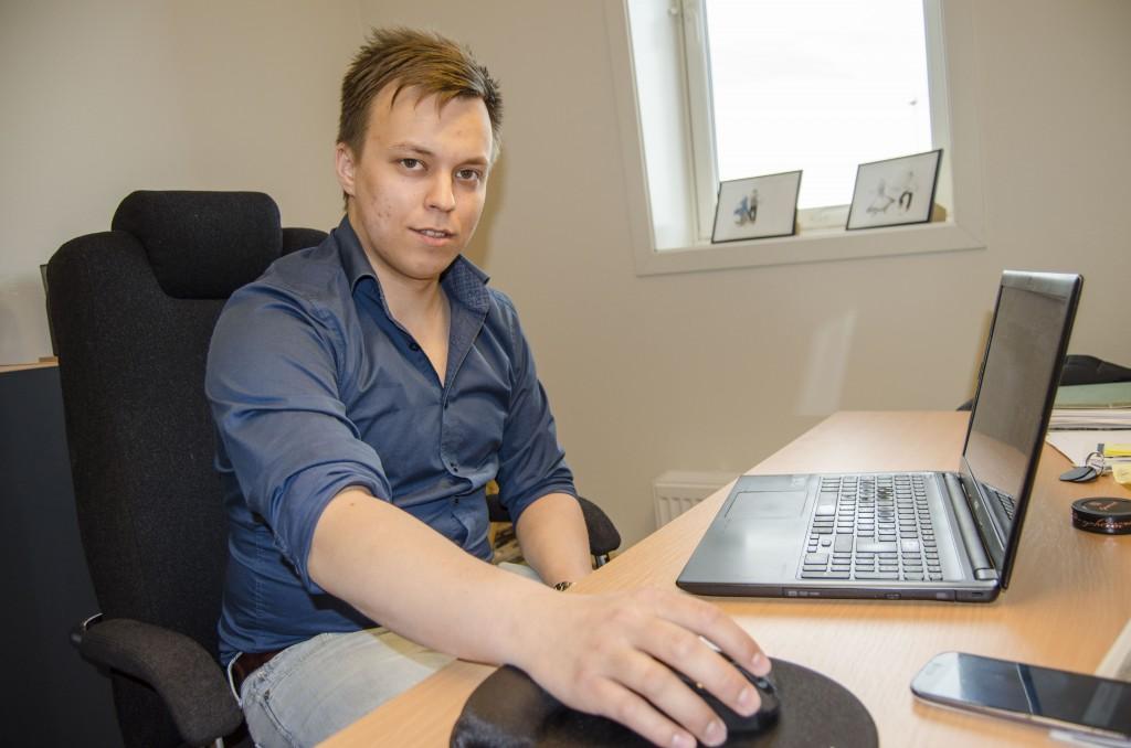 Pål Vegard Eriksen, daglig leder ved Halti Kvenkultursenter. KUVA HEIDI NILIMA MONSEN