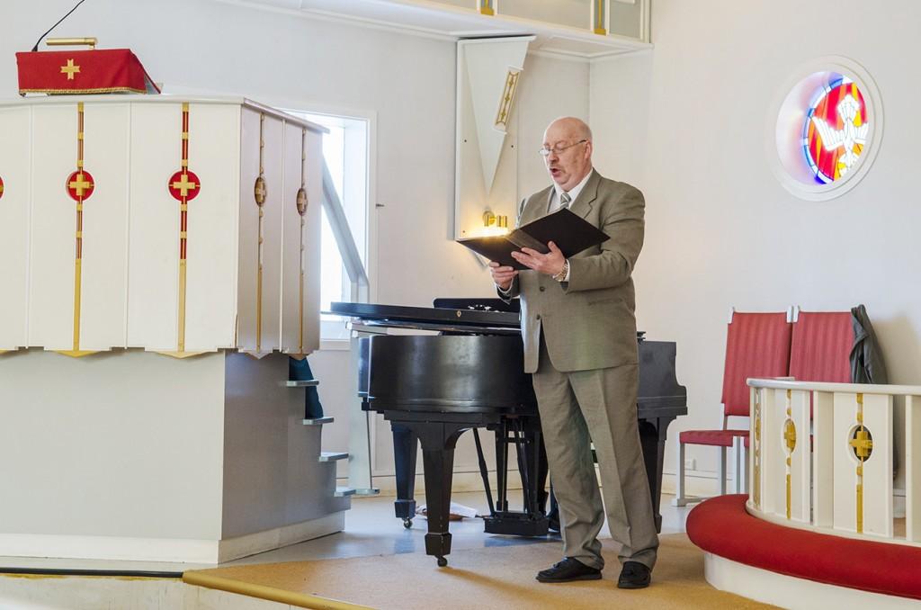 Også i år blir det kvensk gudstjeneste på Elvebakken kirke. KUVA HEIDI NILIMA MONSEN
