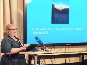 – Å bygge opp Ruijan Kaiku til ukeavis ville bidra til et fortsatt mediemangfold i Norge, sier redaktør Heidi Nilima Monsen i Ruijan Kaiku KUVAT: LIISA KOIVULEHTO