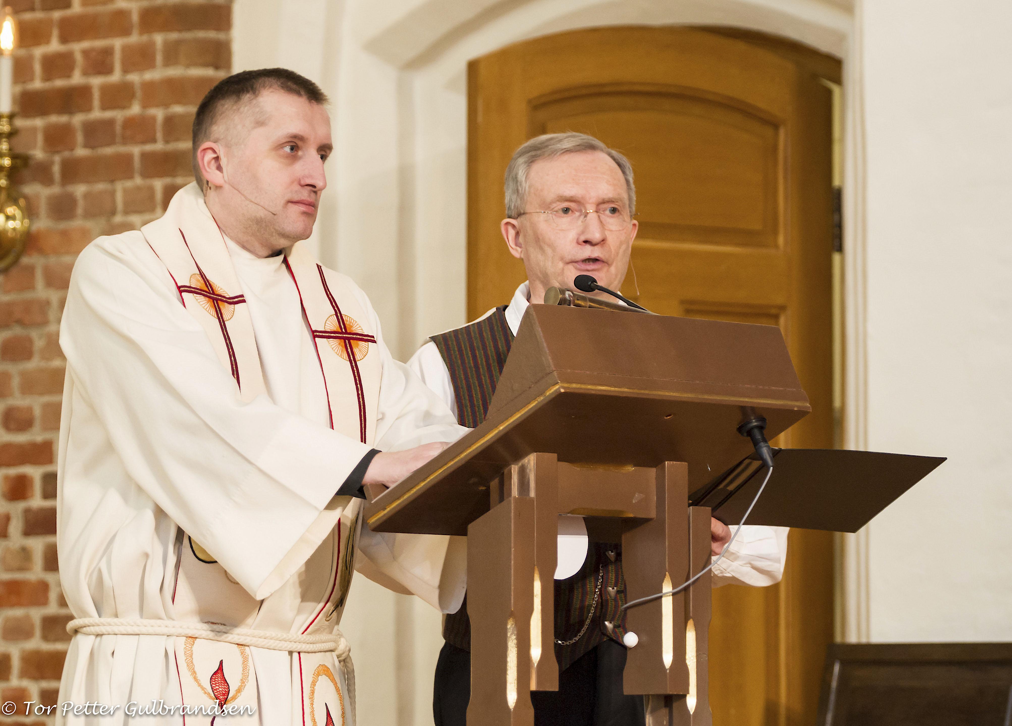 Gudstjeneste og Beronka-foredrag