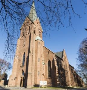 Vakre Vestre Aker Kirke. KUVA TOR PETTER GULBRANDSEN
