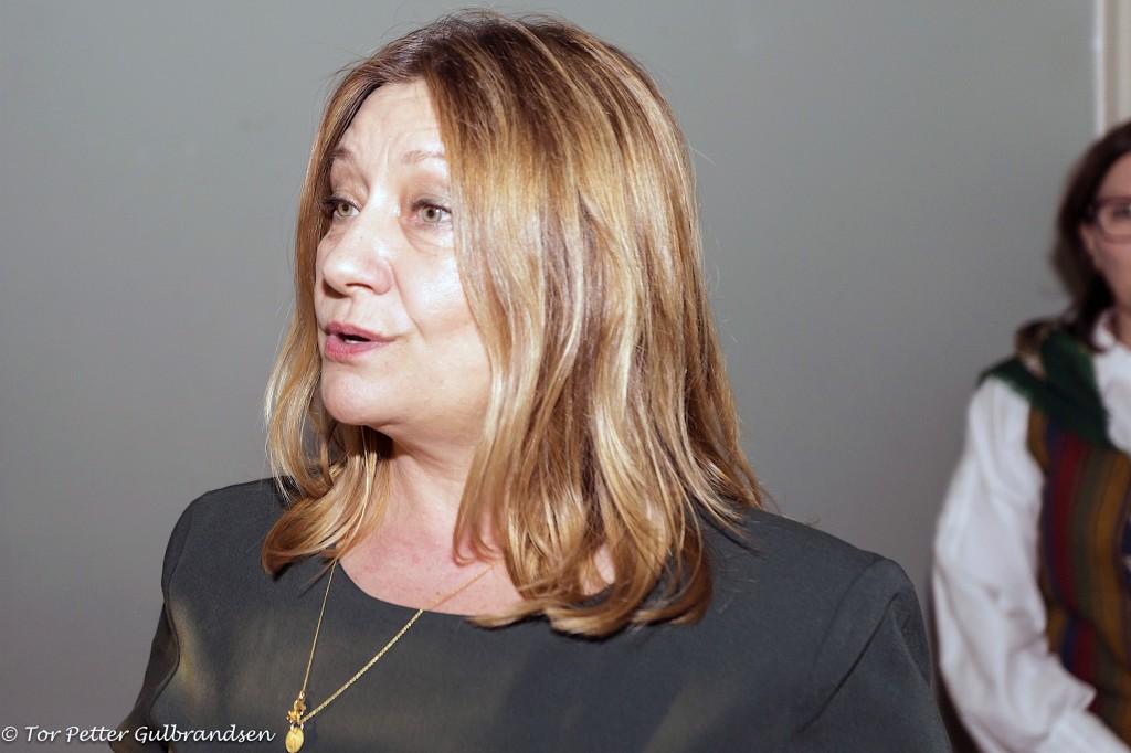 Statssekretær Anne Karin Olli. KUVA TOR PETTER GULBRANDSEN