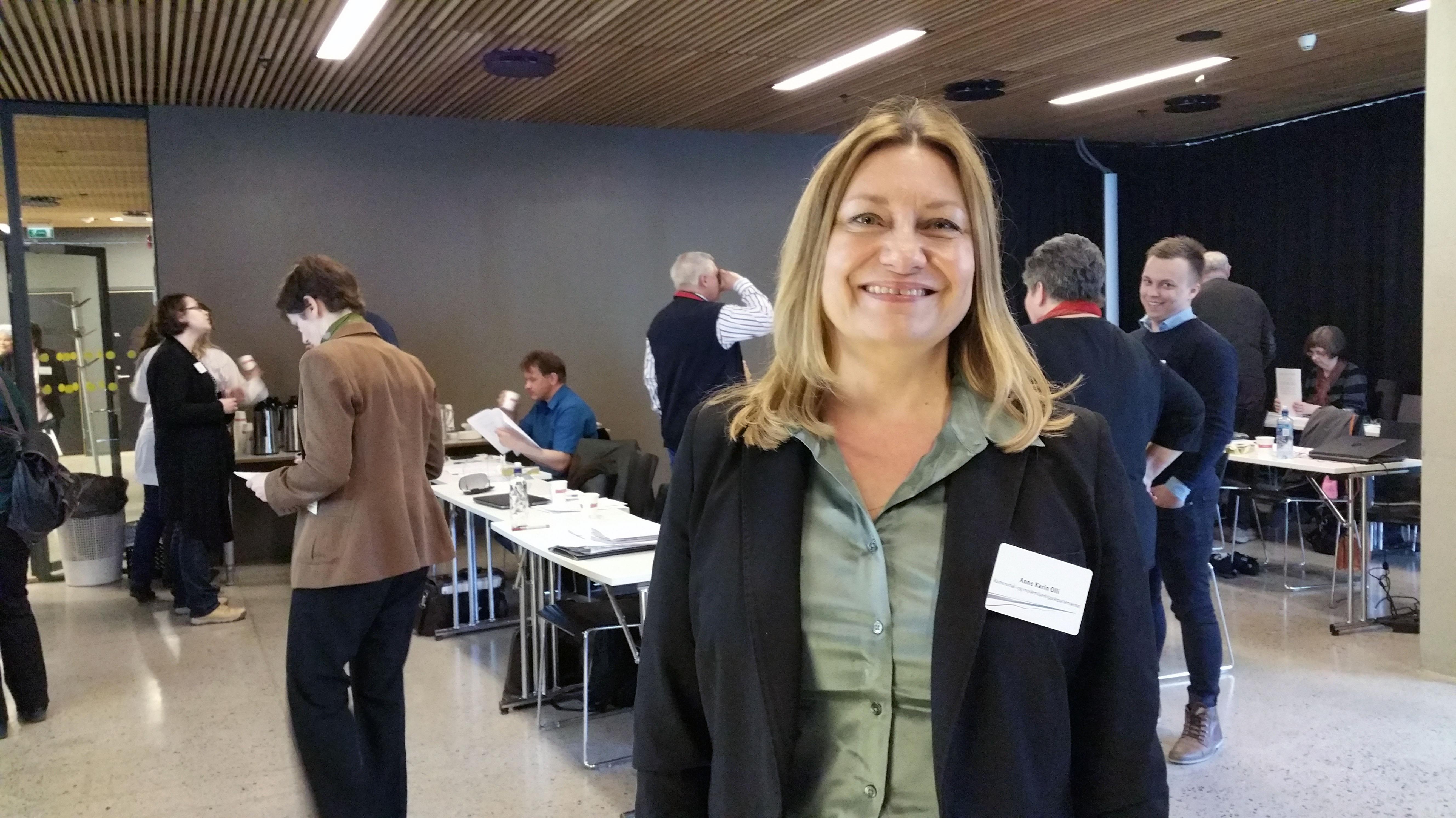 Anne Karin Olli imponert over kvenenes engasjement