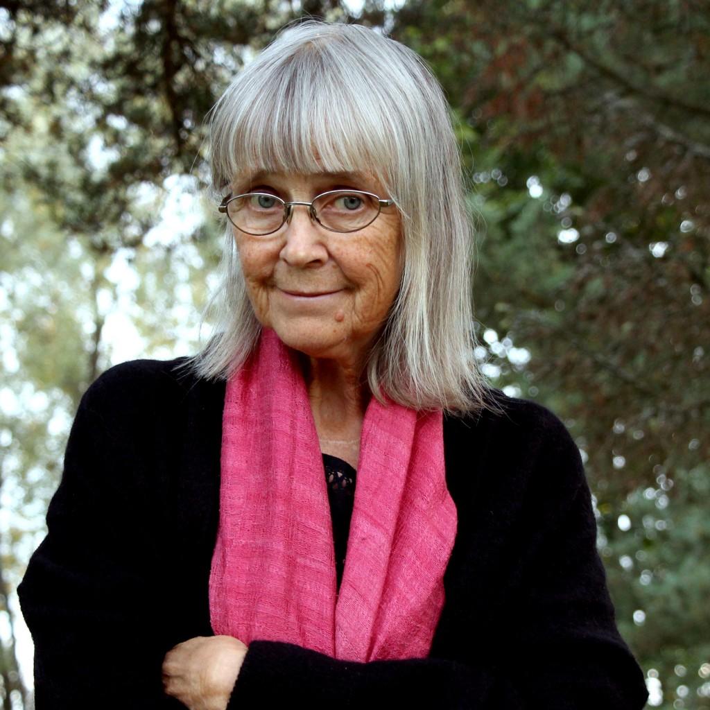Etter mange år har Britt Karin Larsen endelig avsluttet sitt store romanverk om skogfinnene, som hun har skrevet på i syv år. KUVA ANITA KROK, GLOMDALEN (Pressebilde Cappelen Damm)