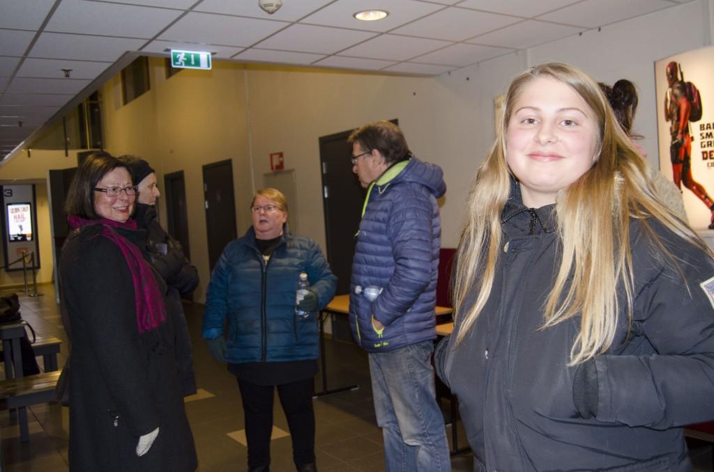 Kaisa Sundelin ble inspirert til å lære seg mer kvensk av de to filmene som ble vist på Alta Kvenforenings filmkveld. KUVAT HEIDI NILIMA MONSEN