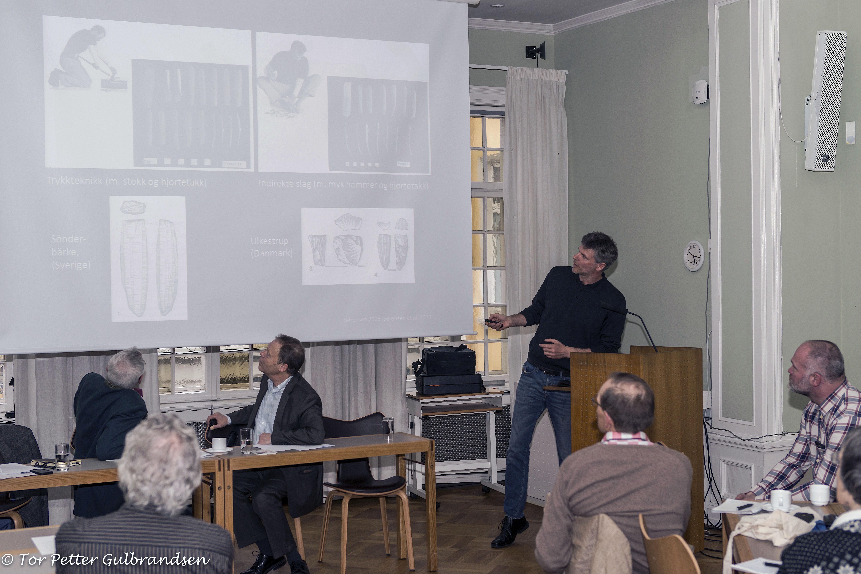 Professor Bergsvik forteller om innvandring