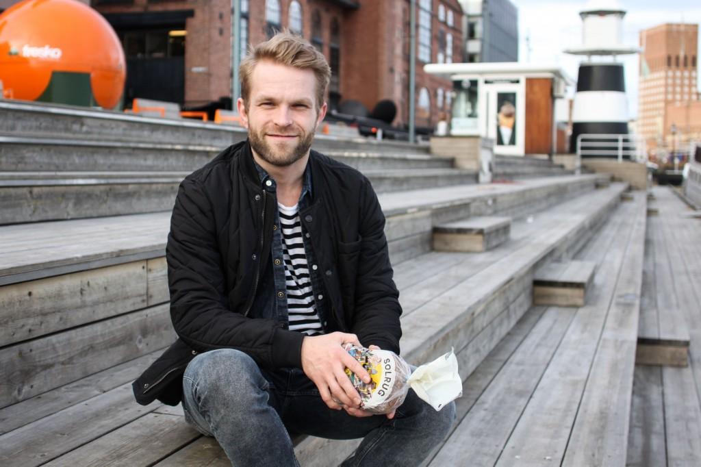 Magnus Högnäs päätyi Osloon opiskelemaan vuonna 2010. Nykyään hän on yksityisyrittäjä, jonka tavoitteena on saada norjalaiset rakastamaan suomalaista ruisleipää. KUVA KAROLIINA HUHTANEN