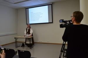 Lørdagen presenterer Reidun Mellem sin nye bok i Nordreisa.