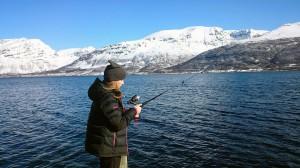 Fisking var en populær aktivitet under familieleiren.