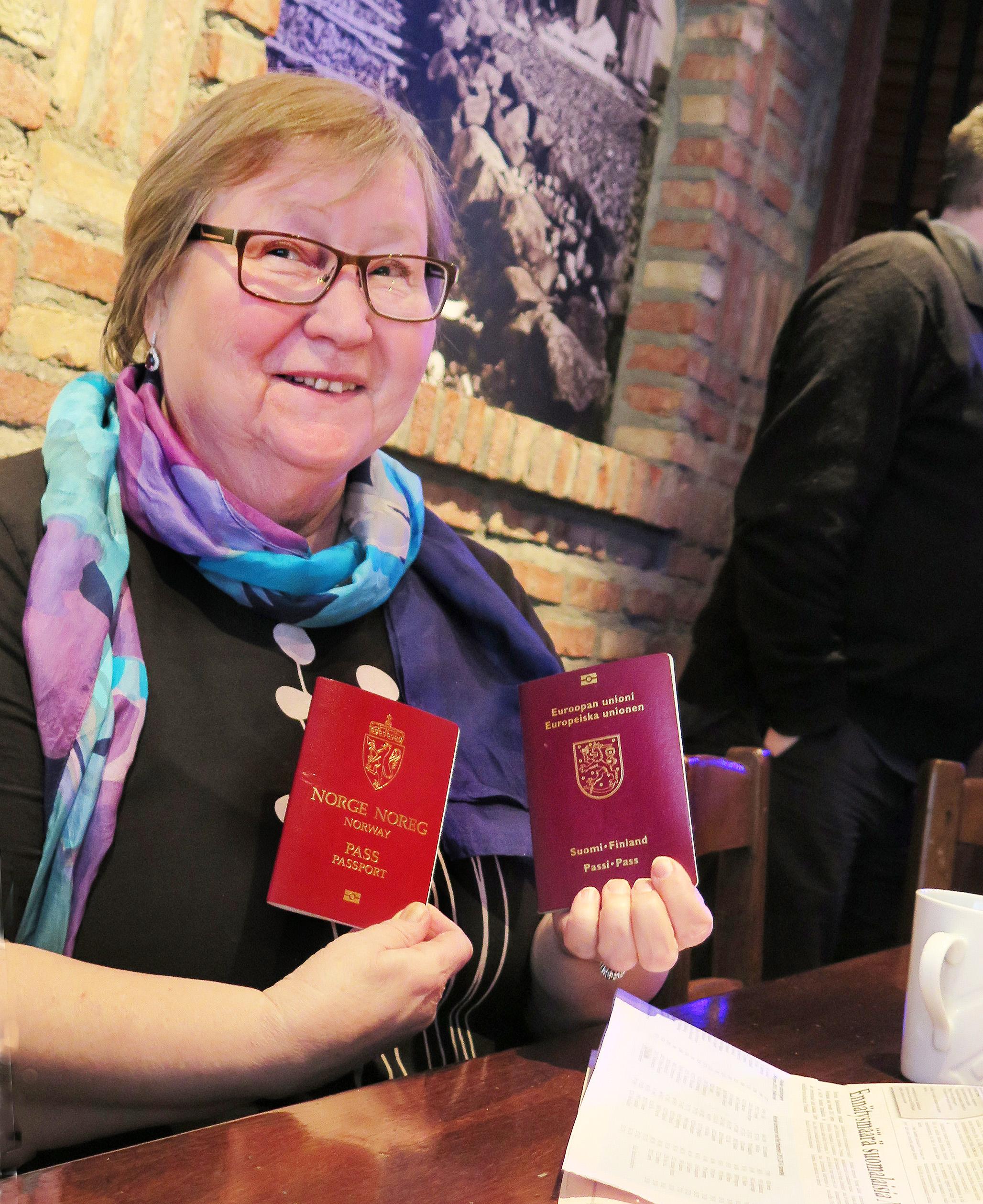 Kansalaisuuden saaminen lisäisi siteitä Norjaan