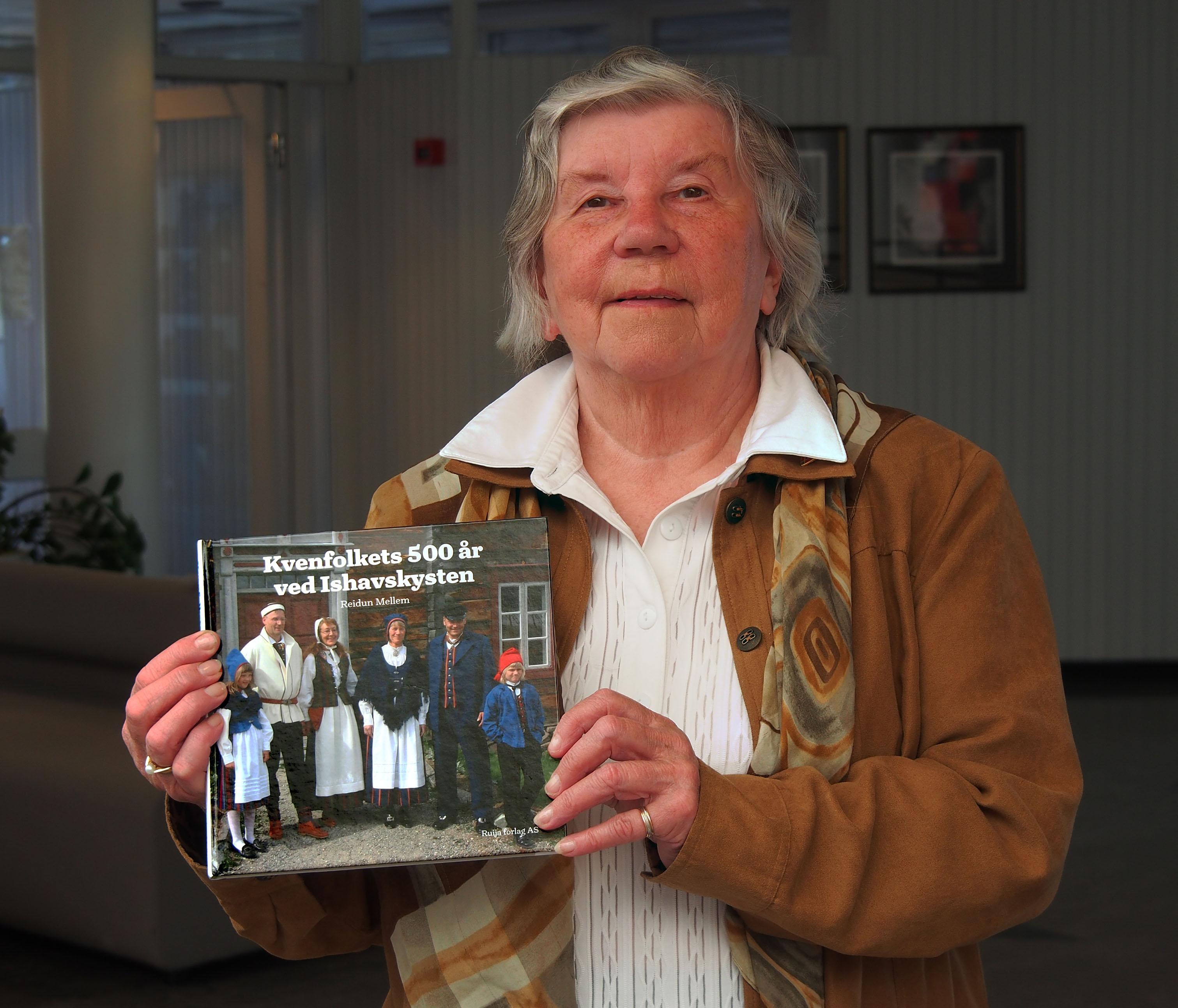 Reidun Mellem med ny bok: Kvensk historie fra innsiden