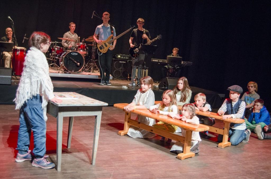 Pål Vegard Eriksen trekker frem forestillingen Loistava 2.0 som et av festivalens høydepunkter. – Dette er med på å gjøre kvensk litt kult blant de unge, mener han. KUVA HEIDI NILIMA MONSEN