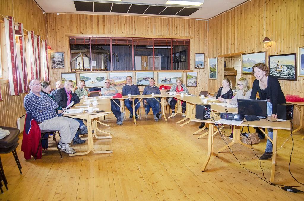 I år som i fjor holdt Anna-Kaisa Räisänen kvenskkurs i Kvænangen. KUVA HEIDI NILIMA MONSEN
