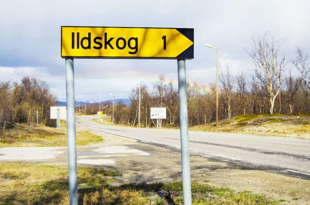 Det kvenske navnet på Porsangerbygda Ildskog er blant annet oppkalt etter ett fiskeredskap som ble brukt for å holde fiskegarn flytende. KUVAT HEIDI NILIMA MONSEN