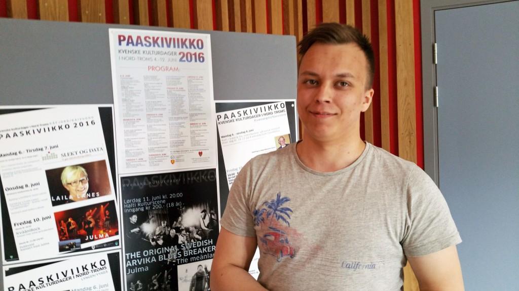 Arrangør Pål Vegard Eriksen er klar for årets Paaskiviikko. KUVA HEIDI NILIMA MONSEN