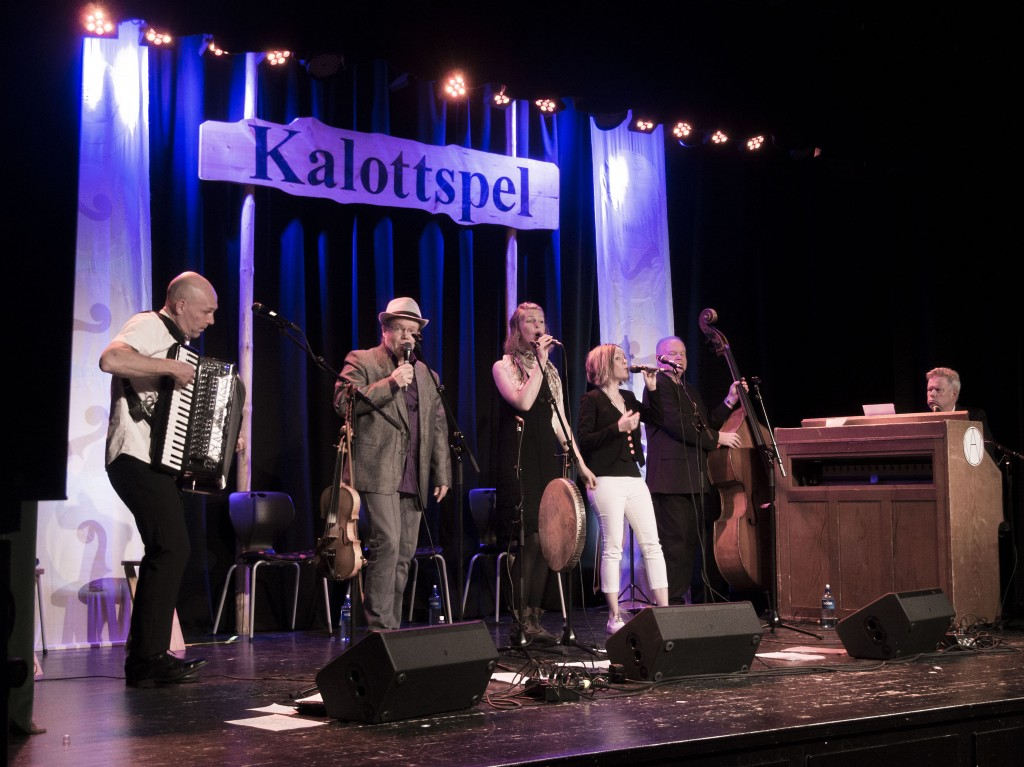WAO pelasi Kalottispeelissä 2016: Jan Johansson, Arto Järvelä, Mirja Palo, Susanne Rantatalo, Göran Eriksson og Markus Falck. KUVA: LIISA KOIVULEHTO