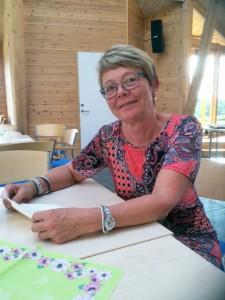 Ruijan Kaiku tok en prat med en av de mange frivillige på årets festival, Judith Nygård. – Det største arbeidet er planlegginga. Den tar et helt år. Planlegginga starter omtrent med en gang festivalen er over, forteller Nygård.