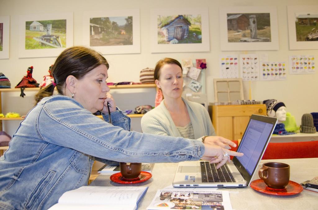 Trine Noodts engasjement ble vekket etter et møte med NKF-leder Hilja Huru på Kvenstua i Alta. KUVA HEIDI NILIMA MONSEN