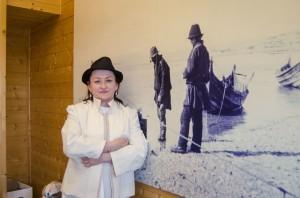 Jakken er inspirert blant annet av klær Gjertsen Nyby har sett på bildene til Paulaharju.